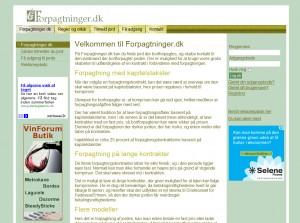 Forpagtninger.dk - gratis bortforpagtning af dine jorde